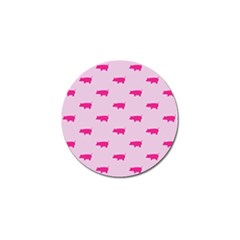 Pig Pink Animals Golf Ball Marker (10 Pack) by AnjaniArt