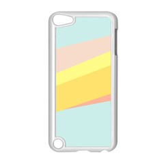 Pink Green Yellow Line Flag Apple Ipod Touch 5 Case (white)
