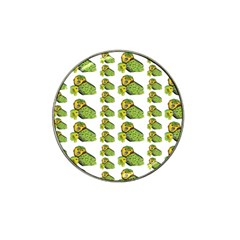 Parrot Bird Green Animals Hat Clip Ball Marker (4 Pack)