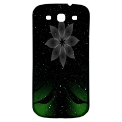 Night Sky Flower Samsung Galaxy S3 S Iii Classic Hardshell Back Case