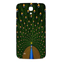 Peacock Feathers Green Samsung Galaxy Mega I9200 Hardshell Back Case