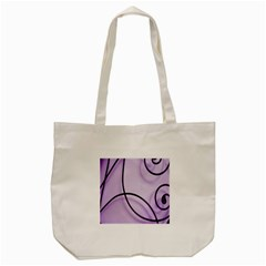 Purple Background With Ornate Metal Criss Crossing Lines Tote Bag (cream) by AnjaniArt