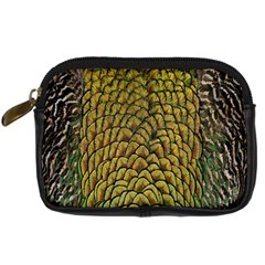 Peacock Bird Feather Color Digital Camera Cases by AnjaniArt