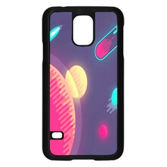 Roket Planet Samsung Galaxy S5 Case (black)