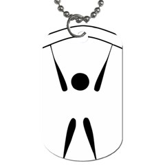 Air Sports Pictogram Dog Tag (two Sides) by abbeyz71