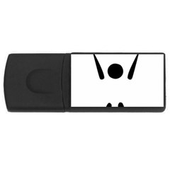 Air Sports Pictogram Usb Flash Drive Rectangular (4 Gb)