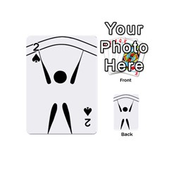 Air Sports Pictogram Playing Cards 54 (mini)  by abbeyz71