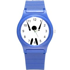 Air Sports Pictogram Round Plastic Sport Watch (s) by abbeyz71