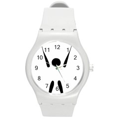 Air Sports Pictogram Round Plastic Sport Watch (m) by abbeyz71