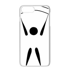 Air Sports Pictogram Apple Iphone 7 Plus White Seamless Case by abbeyz71