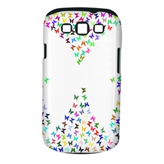 Prismatic Negative Space Butterflies Samsung Galaxy S Iii Classic Hardshell Case (pc+silicone)