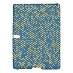 Random Blie Yellow Samsung Galaxy Tab S (10 5 ) Hardshell Case  by AnjaniArt