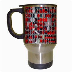 Red Circle Travel Mugs (white)