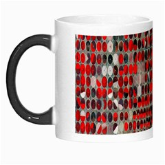Red Circle Morph Mugs