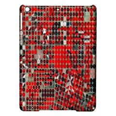 Red Circle Ipad Air Hardshell Cases by AnjaniArt