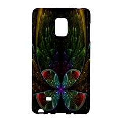 Rose Flower Floral Gold Galaxy Note Edge by AnjaniArt