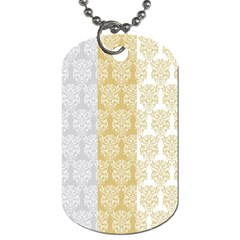 Scrapbook Digitais Estampa Arabesco Scrapbook Para Imprimir Flower Leaf Dog Tag (two Sides) by AnjaniArt