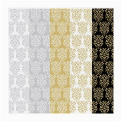 Scrapbook Digitais Estampa Arabesco Scrapbook Para Imprimir Flower Leaf Medium Glasses Cloth (2 Side) by AnjaniArt