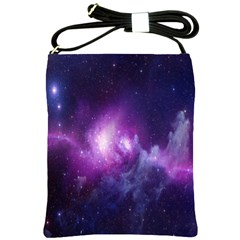 Galaxy Space Purple Shoulder Sling Bags