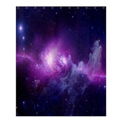 Galaxy Space Purple Shower Curtain 60  X 72  (medium)  by AnjaniArt
