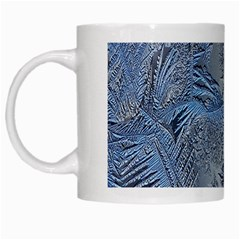 Frost Leafe White Mugs