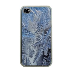 Frost Leafe Apple Iphone 4 Case (clear) by AnjaniArt