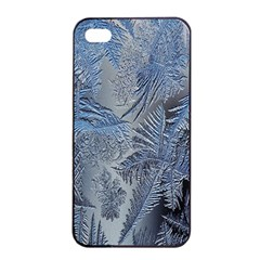 Frost Leafe Apple Iphone 4/4s Seamless Case (black)