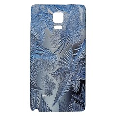Frost Leafe Galaxy Note 4 Back Case by AnjaniArt