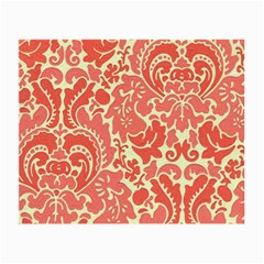 Red Floral Small Glasses Cloth
