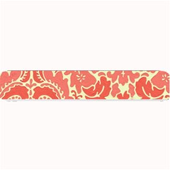 Red Floral Small Bar Mats