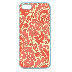 Red Floral Apple Seamless Iphone 5 Case (color)