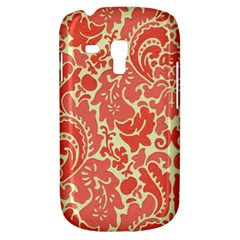 Red Floral Galaxy S3 Mini