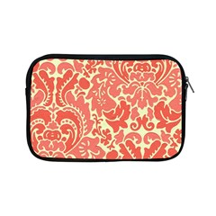 Red Floral Apple Ipad Mini Zipper Cases by AnjaniArt