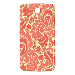 Red Floral Samsung Galaxy Mega I9200 Hardshell Back Case