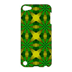 Background Colour Circle Yellow Green Apple Ipod Touch 5 Hardshell Case by AnjaniArt