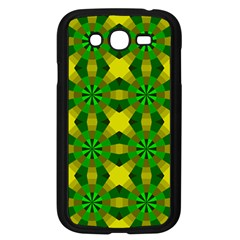 Background Colour Circle Yellow Green Samsung Galaxy Grand Duos I9082 Case (black) by AnjaniArt