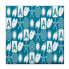 Act Symbols Face Towel