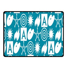 Act Symbols Fleece Blanket (small)