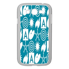 Act Symbols Samsung Galaxy Grand Duos I9082 Case (white) by AnjaniArt
