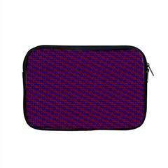 Chain Blue Red Woven Fabric Apple Macbook Pro 15  Zipper Case