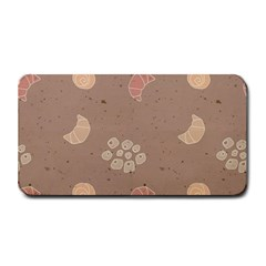 Bread Cake Brown Medium Bar Mats by AnjaniArt