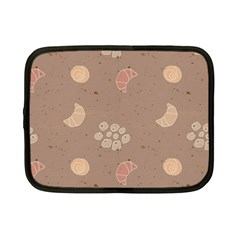 Bread Cake Brown Netbook Case (small)  by AnjaniArt