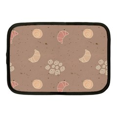 Bread Cake Brown Netbook Case (medium)  by AnjaniArt