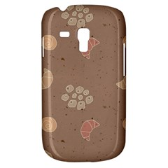 Bread Cake Brown Galaxy S3 Mini by AnjaniArt