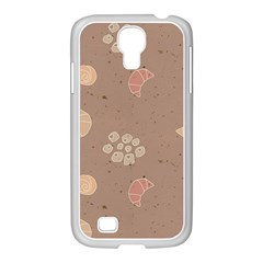 Bread Cake Brown Samsung Galaxy S4 I9500/ I9505 Case (white)