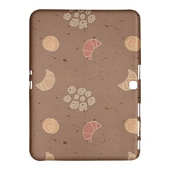 Bread Cake Brown Samsung Galaxy Tab 4 (10 1 ) Hardshell Case  by AnjaniArt