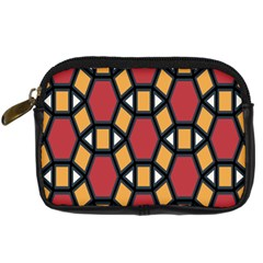 Circle Ball Red Yellow Digital Camera Cases