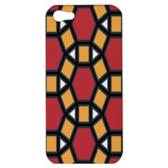 Circle Ball Red Yellow Apple Iphone 5 Hardshell Case