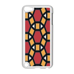 Circle Ball Red Yellow Apple Ipod Touch 5 Case (white) by AnjaniArt