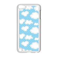 Cloud Blue Sky Apple Ipod Touch 5 Case (white)